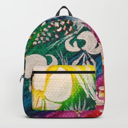 Leaves on the World Tree: Bosniak Pine and Golden Lily Backpack