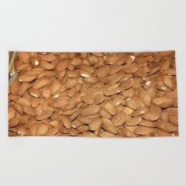 Peeled Almonds From Datca Beach Towel