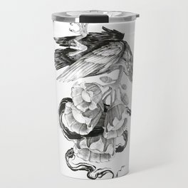 Soul of a Raven Travel Mug
