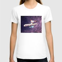 snowboarding T-shirts featuring Snowboarding #2 by Bruce Stanfield