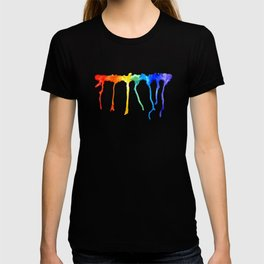 Rainbow Splatters T-shirt