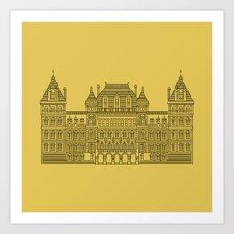 NYS Capitol Building #4 Art Print