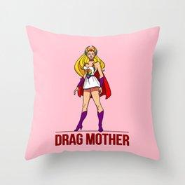 Drag Mother Throw Pillow