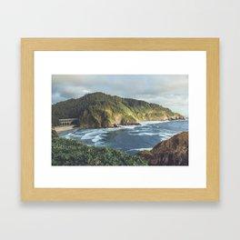 Cape Cove Framed Art Print