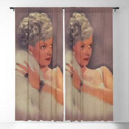 Joan Bennett, Vintage Actress Blackout Curtain
