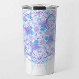Jagged Circumference Travel Mug