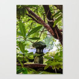 lantern in the middle Canvas Print