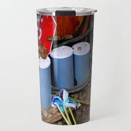 Garages Ail - Fancy Broom And Wind Chimes Travel Mug