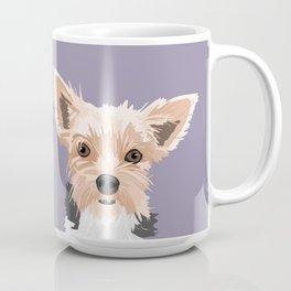 Two Yorkies Coffee Mug