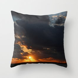 Bahama Sunset Bliss Throw Pillow