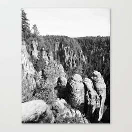 Sächsische Schweiz Canvas Print