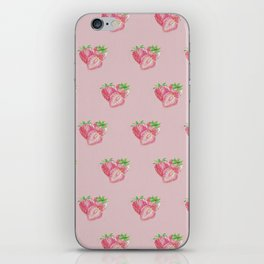 Color pencil Strawberry iPhone Skin