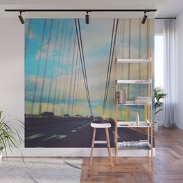Changing Lanes Wall Mural