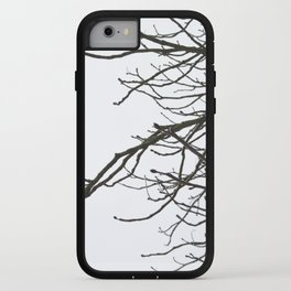 Winter sky & branches iPhone Case