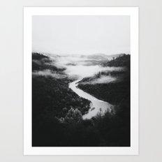 Forks BW Art Print