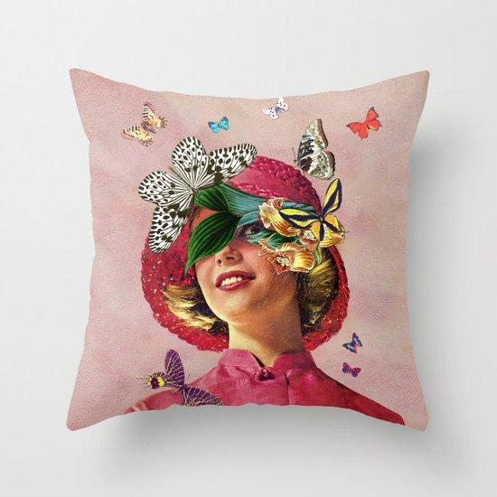 Chrysalis Throw Pillow
