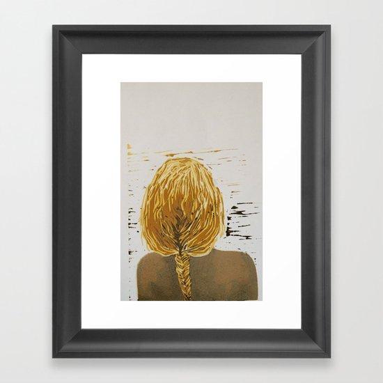 (Un)layered Framed Art Print