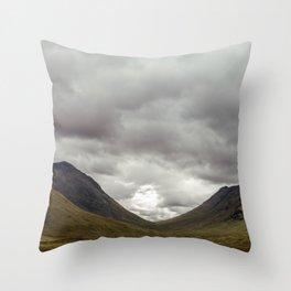 Scottish Valley Throw Pillow