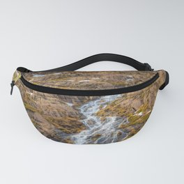 Winter in Snowdonia, Wales Fanny Pack