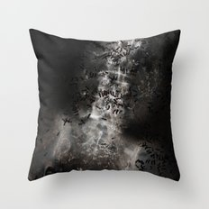 Death (Ant Temple) Throw Pillow