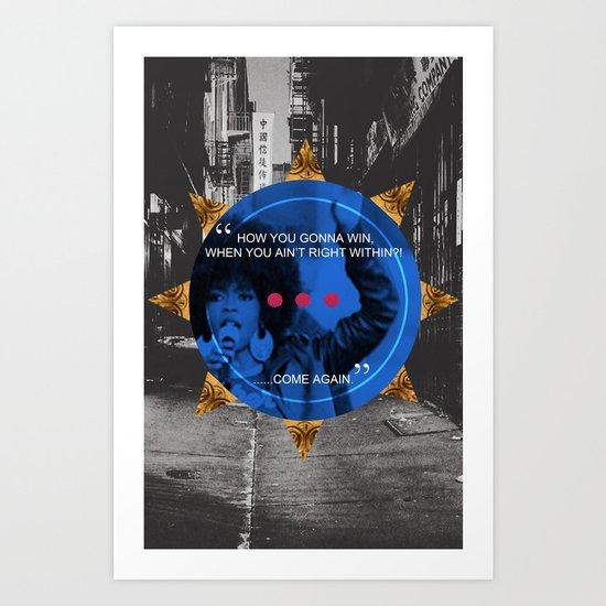 Lauryn Hill tribute  Art Print