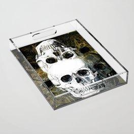 Skull Graffiti 1.0 Acrylic Tray