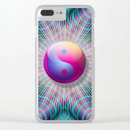 Taijitu Fission Clear iPhone Case