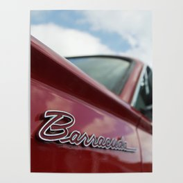 1964 Plymouth Barracuda Poster