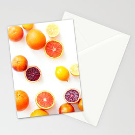 Winter Citrus 1 Stationery Cards