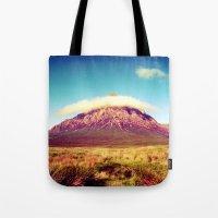scotland Tote Bags featuring Buachaille Etive Mòr, scotland. by zenitt