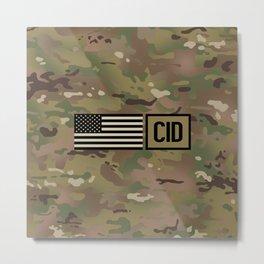 CID (Camo) Metal Print