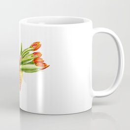 Typical Dutch wooden shoe with tulips Coffee Mug