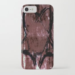 Skull N' Bones Flavor Heartagram iPhone Case