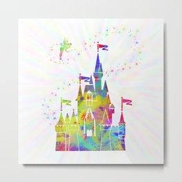 Castle of Magic Kingdom Metal Print