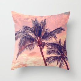 Palms Away - Study 1 Throw Pillow