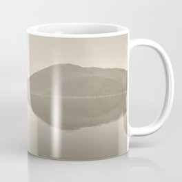 Minimal Monochrome Landscape Reflections Coffee Mug