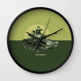 Tank Sinatra Wall Clock