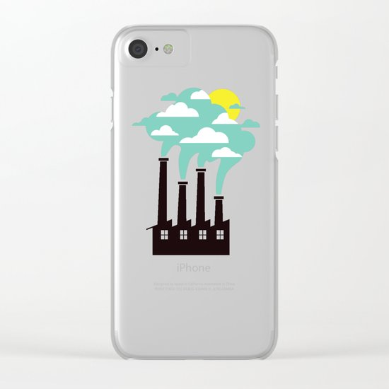 The Cloud Factory Clear iPhone Case