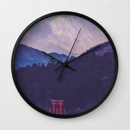 Japan - Hakone Wall Clock