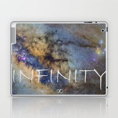 Milky way. Infinity. Scorpius and Sagittarius. Laptop & iPad Skin