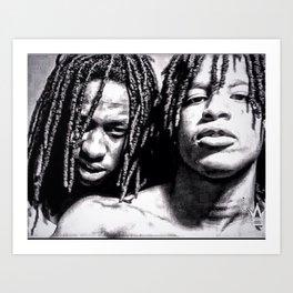600 boyz Art Print