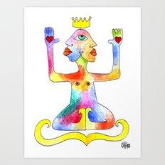 TIGNA REALE Art Print