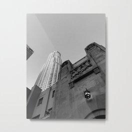 Grey skies Metal Print