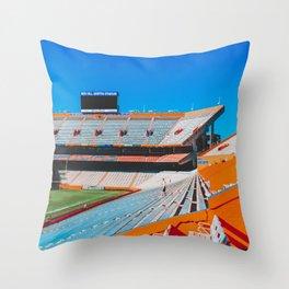 Gator Stadium, UF Throw Pillow