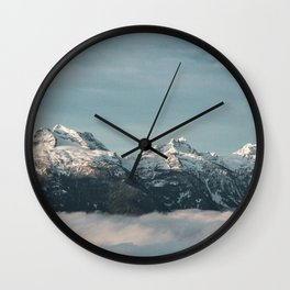 Monashee Mountains, Revelstoke Wall Clock