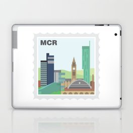 City Stamps - Manchester Laptop & iPad Skin
