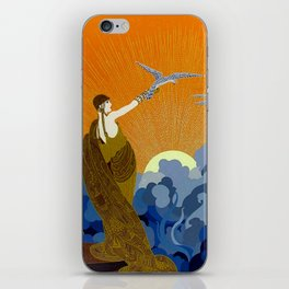 """Wings of Victory"" Art Deco Design iPhone Skin"