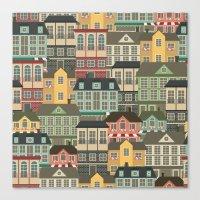 urban Canvas Prints featuring Urban by Julia Badeeva