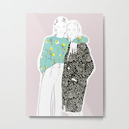 Friendship Metal Print