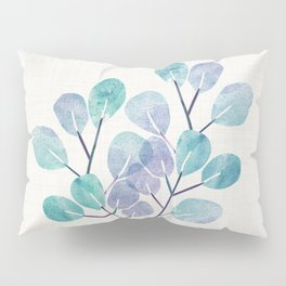 Blue Bonsai - Potted Plant Pillow Sham